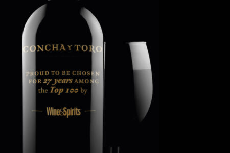 Concha y Toro is once again one of the Top 100 Wineries of the Year